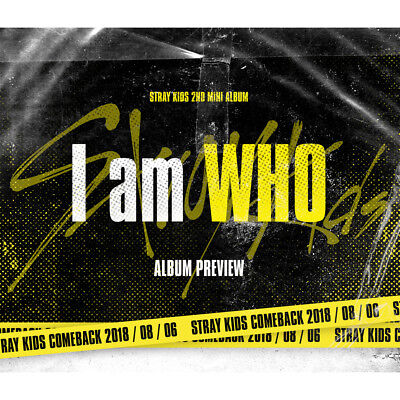 Stray Kids - I Am Who [I Am Ver.] Cd + 3 Photocard (Sealed) + Benefit K-Pop