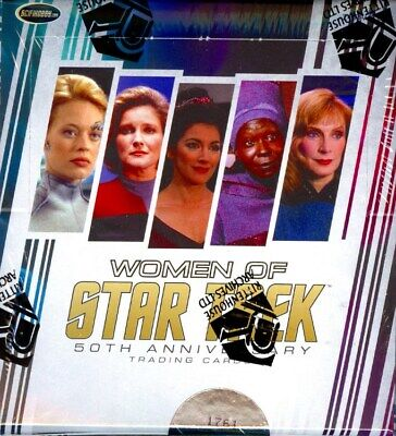 Women Of Star Trek 50Th Anniversary Box Blowout Cards