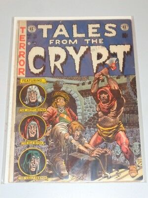 Tales From The Crypt #31 Vg- (3.5) Ec Comics Williamson August September 1952*