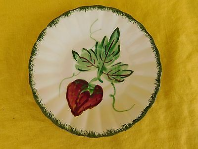 Blue Ridge Southern Pottery WILD STRAWBERRY SAUCER  have 100s more B.R. items