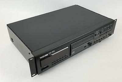 Tascam CD-160 Professional Rack Mount CD Player w Pitch Control TESTED & WORKING