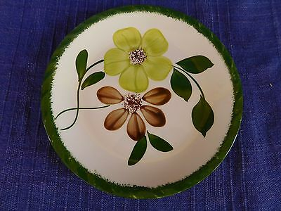 Blue Ridge Southern Pottery Green Briar BREAD PLATE have more items to set AS-IS