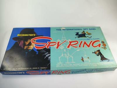 REPLACEMENT PLAYING PIECES Vintage Waddington's Board Game SPY RING 1960s