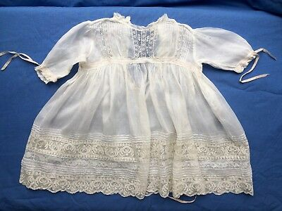 Beautiful Antique Vintage Baby's or Doll's Dress