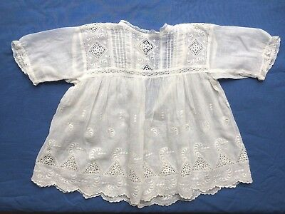 Beautiful Antique Vintage Baby's or Doll's Dress (No. 2)