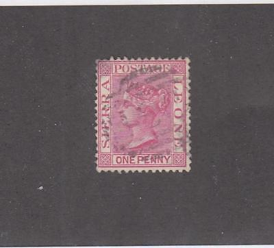 SIERRA LEONE # 21-23a 4 LIGHT USED ISSUES CAT VALUE $20+
