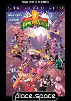 Mighty Morphin Power Rangers (Boom! Studios) #29A (Wk29)