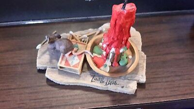 Lowell Davis Border Fine Arts Mouse with the matches and the big candle.