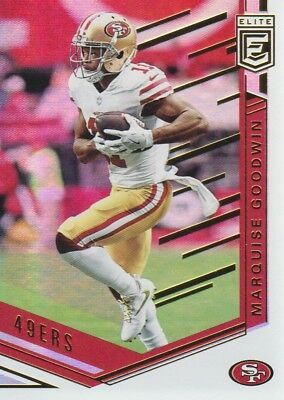 4b2e83a21e8 2018 DONRUSS ELITE Base  23 Marquise Goodwin - San Francisco 49ers ...