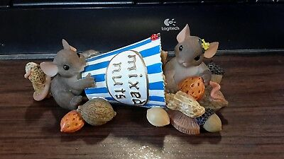 Fitz and Floyd Charming Tails I'm Nuts About You Figurine