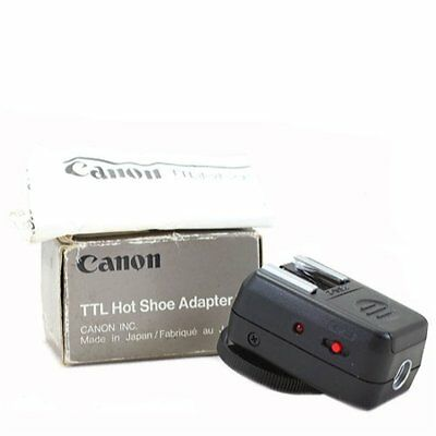 Canon TTL Hot Shoe Adapter 2 Multi Flash Off-Camera Hot Shoe Boxed XLNT