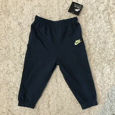 Nike Kids Boys Baby Navy Blue Jogger Pant Trousers, 9-12 Months BNWT
