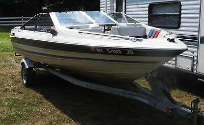 Superb 1987 Bayliner Capri 16 Bowrider Trailer New York Caraccident5 Cool Chair Designs And Ideas Caraccident5Info