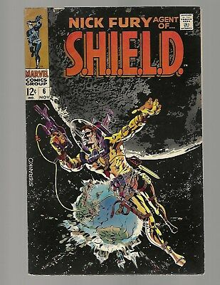 Nick Fury Agent Of Shield #6 Steranko