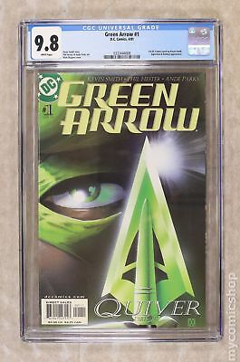 Green Arrow (2nd Series) #1 2001 CGC 9.8 0333444008