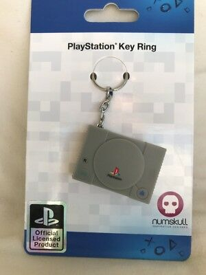 Numskull Sony PlayStation 1 Official Console Key Ring Keychain PS1