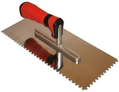 """11/64"""" x 11/64"""" Square Notch Trowel for Schluter Ditra underlayment"""