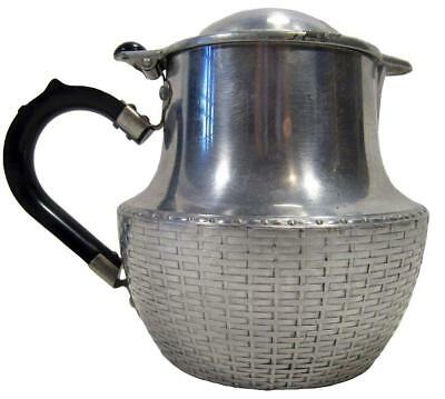 Tea Hot Water Coffee Pot Swan Wikka Ware 1½ Pint 700 ml 50's England