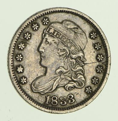 1833 Capped Bust Half-Dime - Circulated *8619