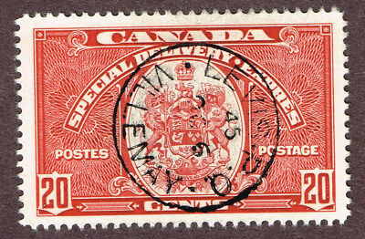 Canada E8 Vf Villemay Levis Quebec Son  Cancels  (For4,4