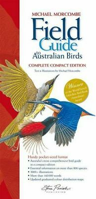 NEW Field Guide to Australian Birds  By Morcombe Michael Free Shipping