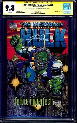 Incredible Hulk Future Imperfect #2 CGC SS 9.8 signed George Perez & Peter David