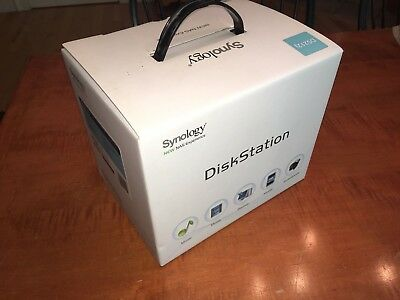 Synology DiskStation DS212j NAS with 2x 1TB HDD