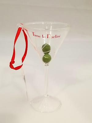Hallmark Direct Imports Ornament Time to Partini - Martini Glass - #HGO1579