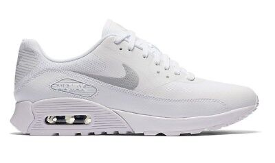 NIKE AIR MAX 90 Ultra 2.0 Whiteplatinum Shoes Size 8.5 Brand New (881106 101)