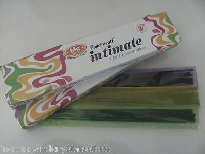 'INTIMATE' 3 IN 1 Incense Sticks by BIC 2 X 40g 3 fragrances in each pack