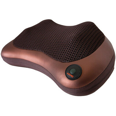 NEW Shiatsu Massage Pillow w/ Optional Heat Function - Soothes Aching Muscles