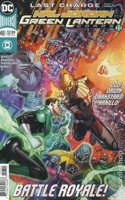 Hal Jordan and The Green Lantern Corps #48A 2018 NM Stock Image