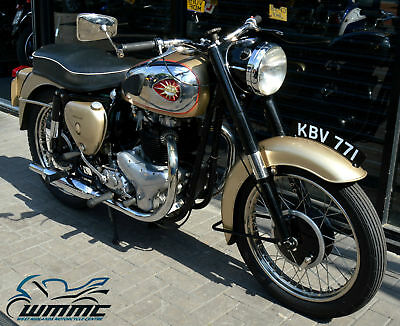 1958 BSA A10 GOLDFLASH 650cc * BRITISH CLASSIC - TAX & MOT EXEMPT *