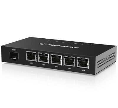 Ubiquiti Networks EdgeRouter ER-X-SFP 6 Port PoE Gigabit Ethernet Router