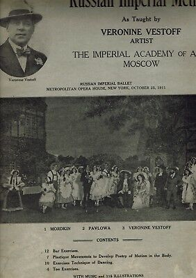 Russian Imperial Method -As Taught by Veronine Vestoff 1919 Academy of Arts Mosc