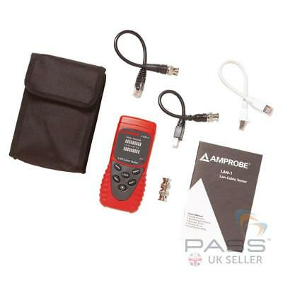 *NEW* Amprobe LAN-1 LAN Cable Tester / UK Seller