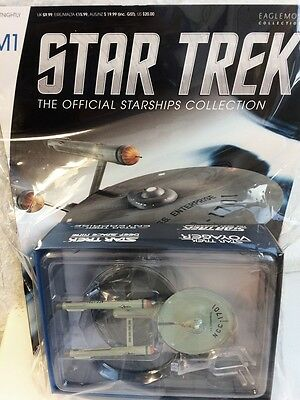 STAR TREK Official Starships ENTERPRISE CLASSIC NCC-1701 MIRROR Eaglemoss engl.
