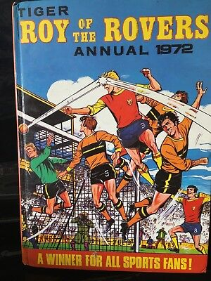 Roy Of The Rovers Annual 1972