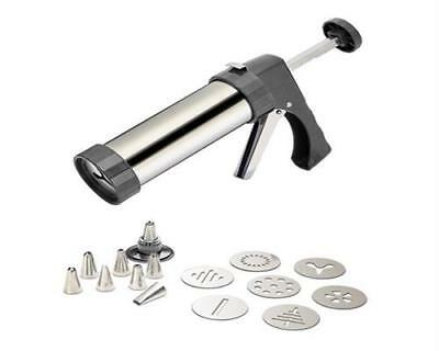 Alpfa Cookie Press-Set Kunststoff weiß 9-tlg. 802260
