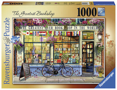 Ravensburger Puzzle*1000 Teile*garry Walton*the Greatest Bookshop*rarität*ovp
