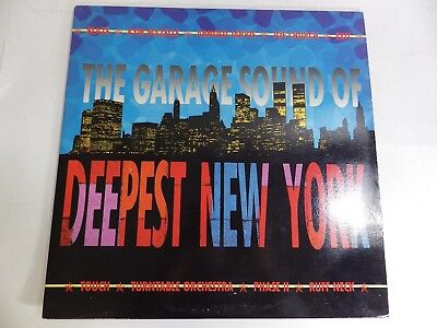 Various - THE GARAGE SOUND OF DEEPEST NEW YORK - DOUBLE VINYL - LIC10LP