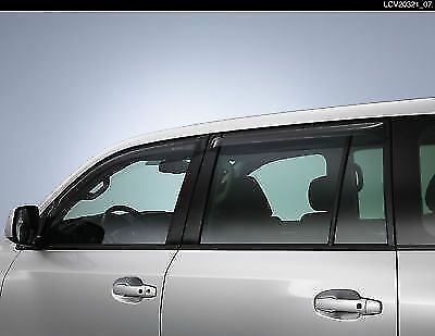 Genuine Toyota Landcruiser wind deflectors PW162-60001