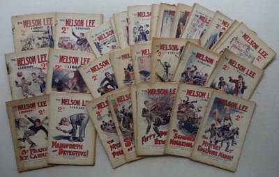 Nelson Lee Library comic storypaper 1928 x 39 Most G/VG (phil-comics)