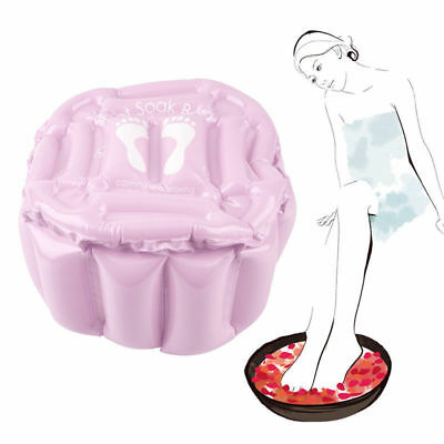 Foot Feet Soak Bath Inflatable Basin Wash SPA Home Use Pedicure Care Relax Gift