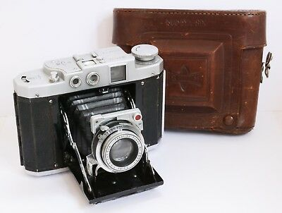 Vintage MAMIYA SIX Folding Medium Format Rangefinder Camera - for Restoration