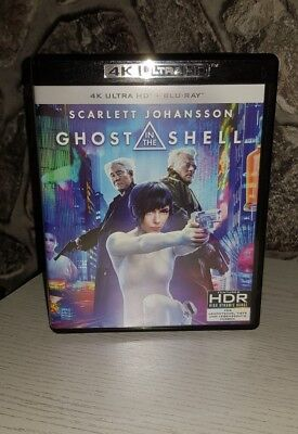 Ghost in the Shell (4K Blu-ray + Blu-ray) wie Neu