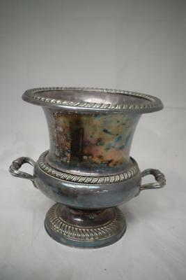 Large Silver Plated 2 Handled Urn Shaped Trophy/Cup