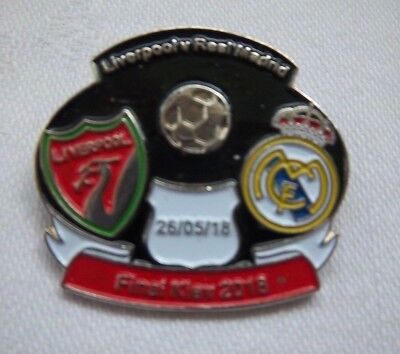 Orig.Pin  Champions League  2017/18  FINALE  REAL MADRID - LIVERPOOL FC  !!  TOP
