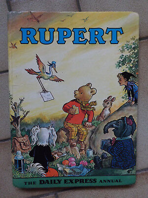 """RUPERT"" Annual - 1972 - The Daily Express Annual"
