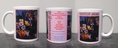THE FALL perverted by language MUG, limited  RARE BRAND NEW- BOXED mark e smith